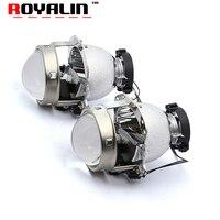 ROYALIN Car Styling 3 0 Inch Bi Xenon Projector Lens For Hella 4 LHD RHD Full