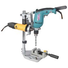 Dremel Electric Drill Stand Power Rotary Tools Accessories Bench Drill Press Stand DIY Tool Double Clamp