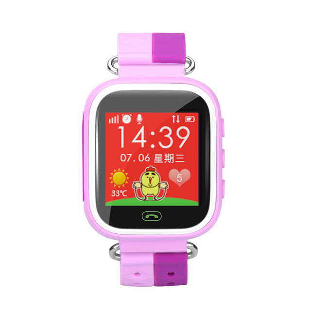Stylish and colorful touch screen smart watches the weather intercommunication color LED children sports men and women students