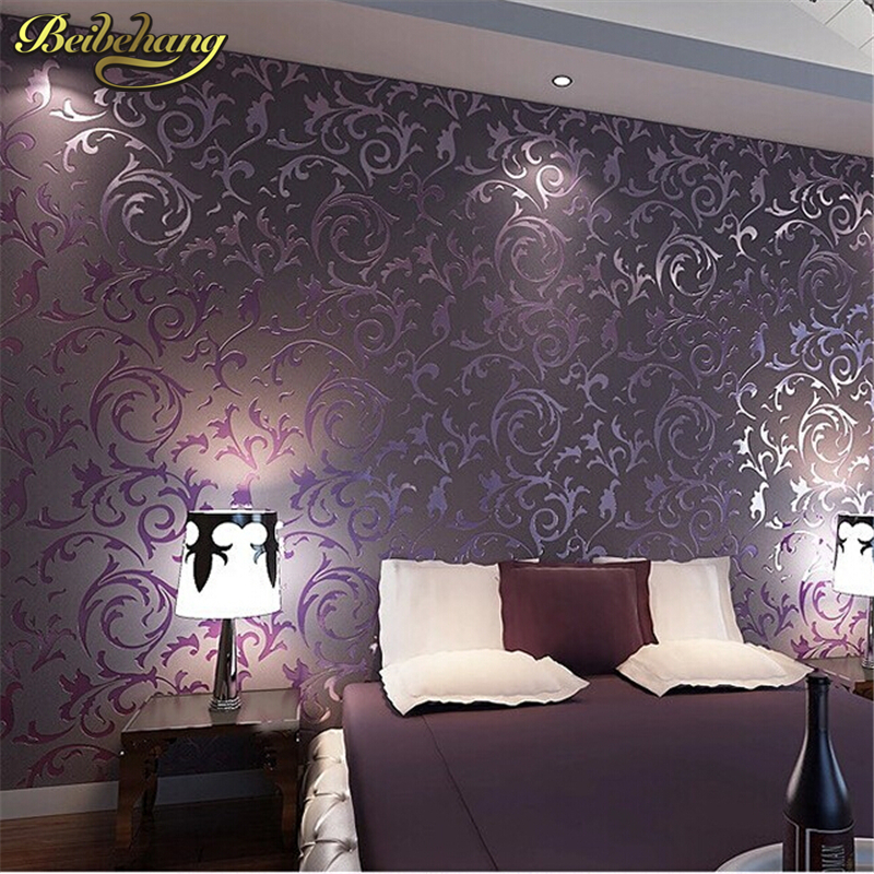 beibehang wallpaper High quality wall paper 3D fashion papel de parede bedroom background wall desktop wall paper rolls White