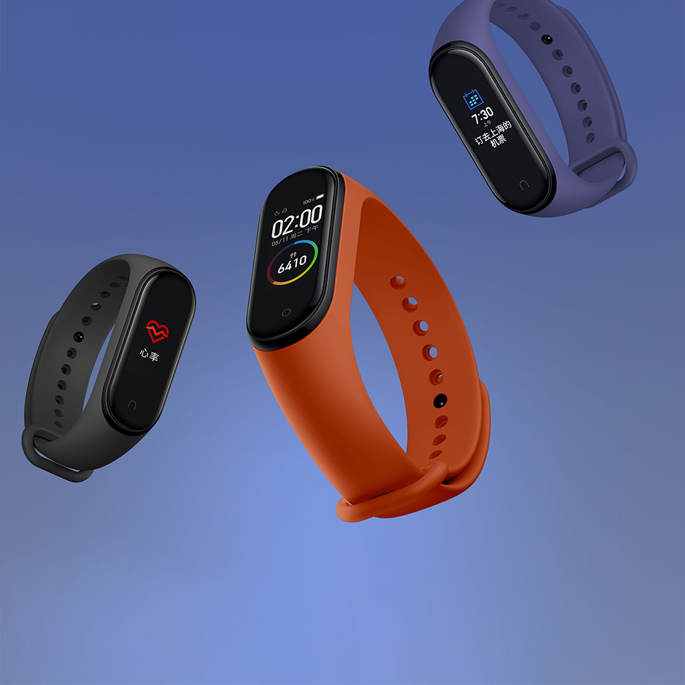 Image 2 - New Global Version Xiaomi Mi Band 4 Band4 Smart Miband 3 Color  Screen Bracelet Heart Rate Fitness Music 50M Waterproof BluetoothSmart  Wristbands