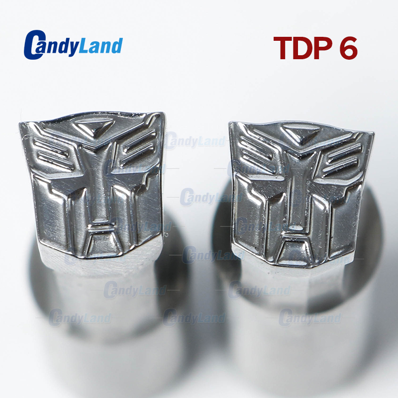 CandyLand TDP6 TF Milk Tablet Die 3D Punch Press Mold Candy Punching Die Customized DesignTablet Punch