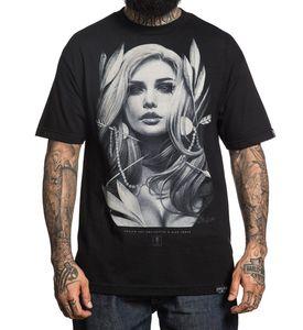 Мужская футболка с короткими рукавами SULLEN, черная футболка с принтом стрелы, Alex Sorsa Art, 2018