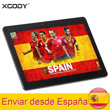 XGODY T1003 Free Shipping 10.1 Inch Tablet Android 2GB RAM 32GB ROM GPS MTK6580 Quad Core 3G Dual Sim Phone Call Tablet PC OTG