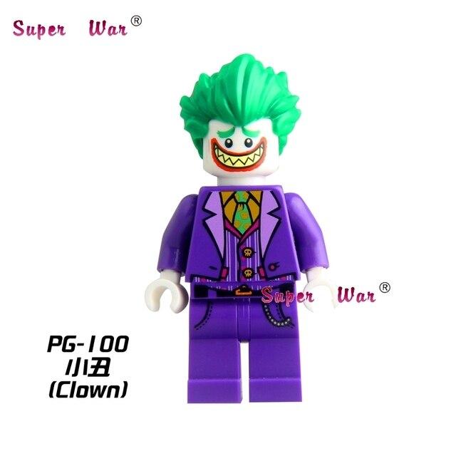 1 PCS star wars Joker com Grande Sorriso Capa de super-heróis da marvel ação modelo de blocos de construção tijolos brinquedos para crianças