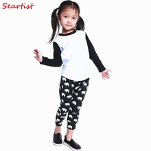 Kids Cute Harem Pants Baby Boys Girls Cotton Leggings Newborn Autumn Long 2017 New Fashion 35C