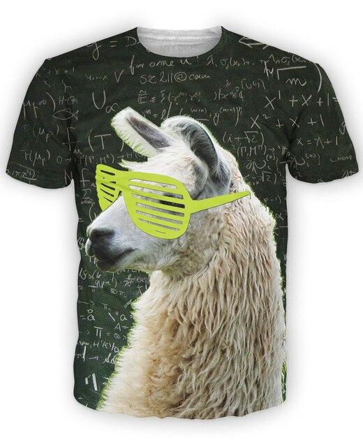 Perro Gafas Camiseta Moderna Vida Camiseta De Dibujos Animados