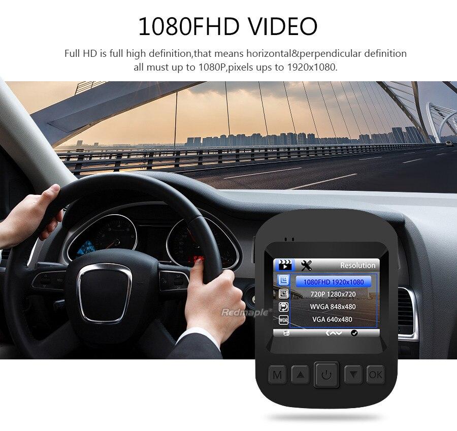 Mini Car DVRs Camera Full HD 1080P 2 quot 170 Degree Video Recorder Dashcam Digital Registrar Camcorder Novatek 96658 Dash Cam in DVR Dash Camera from Automobiles amp Motorcycles