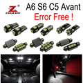 24pc x Canbus Error Free LED Interior Dome Map Light Kit Package for 1998 to 2004 Audi A6 S6 C5 Avant Wagon