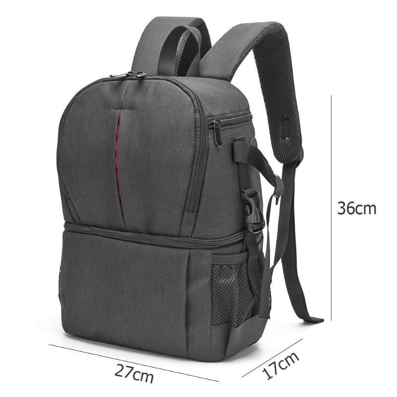 foto caso para câmera digital mochila multi-funcional