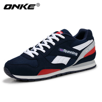 ONKE 2017 Spring Autumn Men Sports Shoes Running Shoes Light Weight Breathable Outdoor Sneakers Zapatillas Deportivas