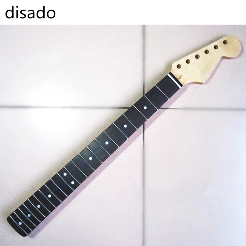 diasado Musical instruments 21 Frets inlay dots rosewood fingerboard Electric Guitar maple Neck Guitar accessories parts