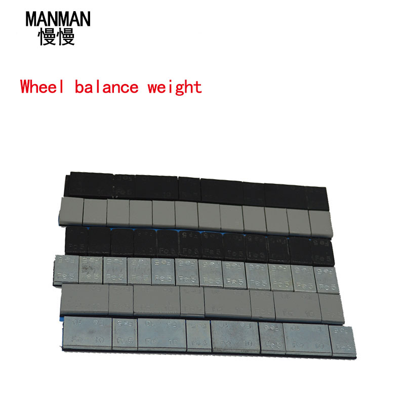 MANMAN 0.6KG Wheel Balance Weight/ Car Tire Balancing Blocks Adhesive Balancing Wheel Balancing Block Weight