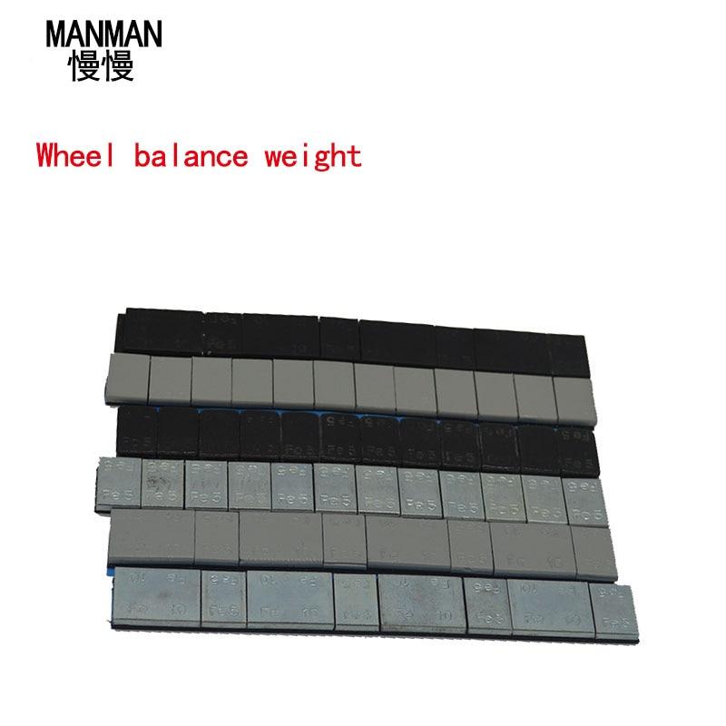 MANMAN 0.6KG Wheel Balance Weight/ Car Tire Balancing Blocks Adhesive Balancing Wheel Balancing Block Weight
