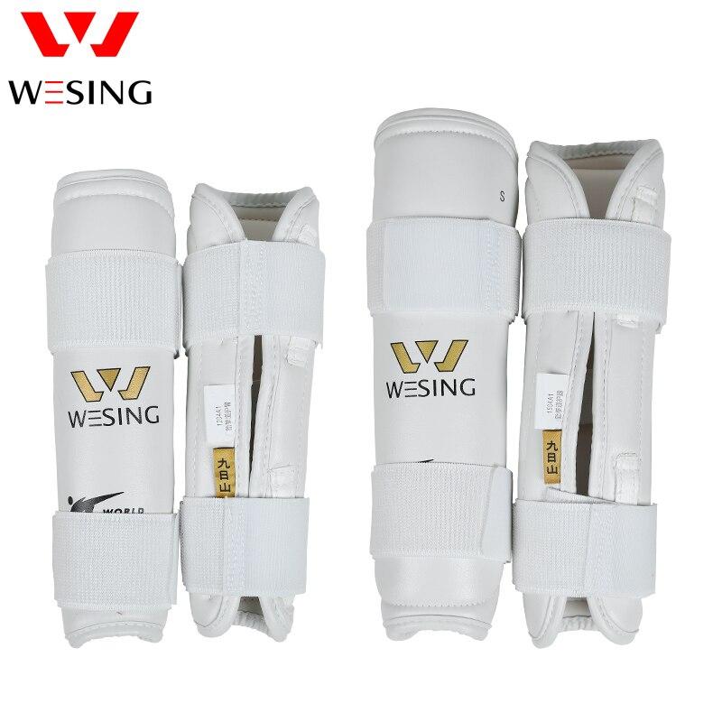 Wesing Taekwondo Prot/ège-Tibias et Avant-Bras en PU approuv/é WTF