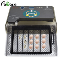12 Eggs Automatic Digital Eggs Incubator Hatcher Home Mini Hatching Incubator Chicken Duck Egg Incubator Hatching Machine