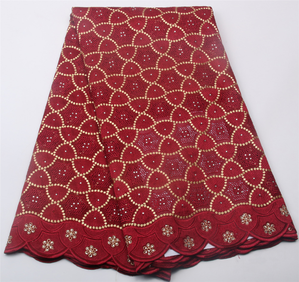 High Quality French Swiss Voile Lace In Switzerland Pretty Cotton African Dry Fabric Lemon Nigeria Material