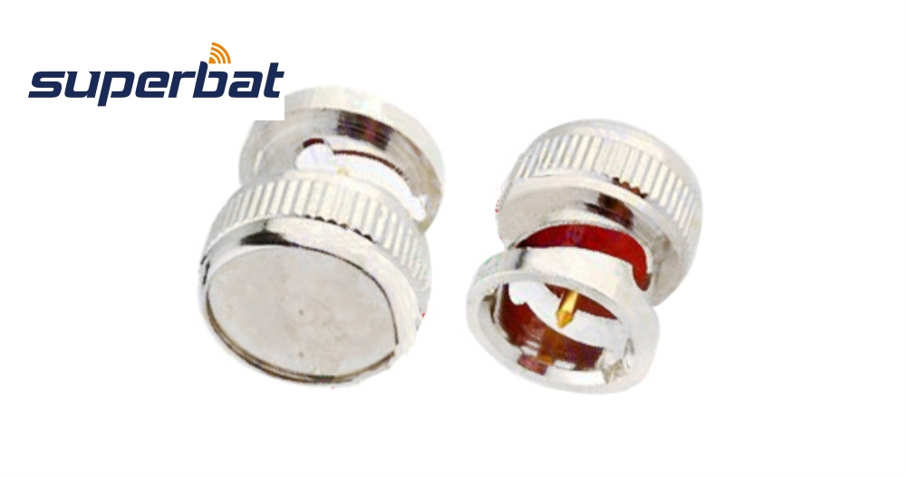 Superbat 10pcs Dust Cap For BNC Jack Female RF Coaxial Connector Nickel Plated For Anti-communication Signal Interference