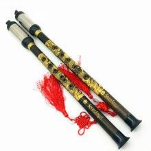 Flûte de Concert chinoise en bambou Bawu, Instrument de musique folklorique, clarinette verticale, Flauta Bawu Not DIZI & Xiao