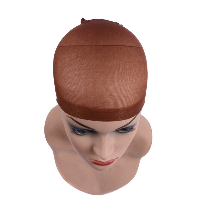 2 Pieces/Pack Wig Cap Hair net for Weave  Hairnets Wig Nets Stretch Mesh Wig Cap for Making Wigs Free Size 6