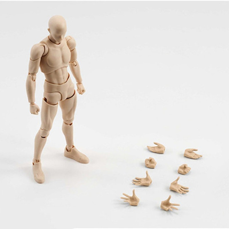 6 Types 2 Colors SHFiguarts Body Chan Body Kun Black Skin Color Ver PVC Action Figure Collectible Model Toy (31)