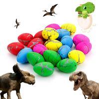 60 יח'\חבילה איסור פרסום חידוש חמוד קסם גידול בקיעת ביצי דינוזאור דגם דינוזאור צעצועים חינוכיים מתנה מעניינת לחיות מחמד