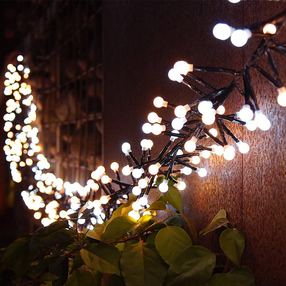 LED Light String 400 LED 3M Low Voltage Indoor Outdoor Festival Holiday Lights Window Curtain Garden Decoration String Light