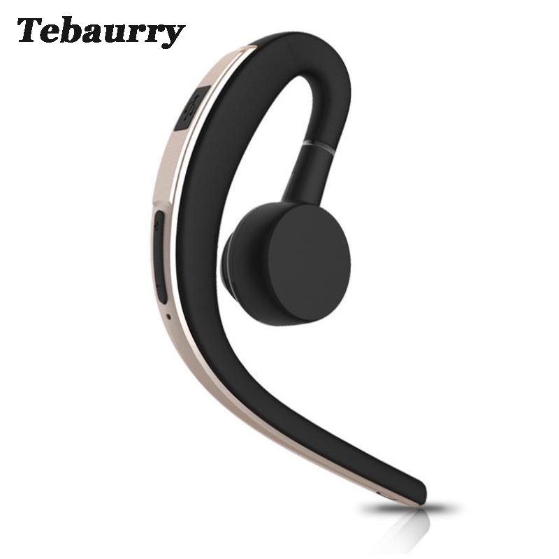 Tebaurry Business Bluetooth Earphone Sport Wireless Bluetooth Headset Music Earbuds Earphone with Microphone for phone iPhone