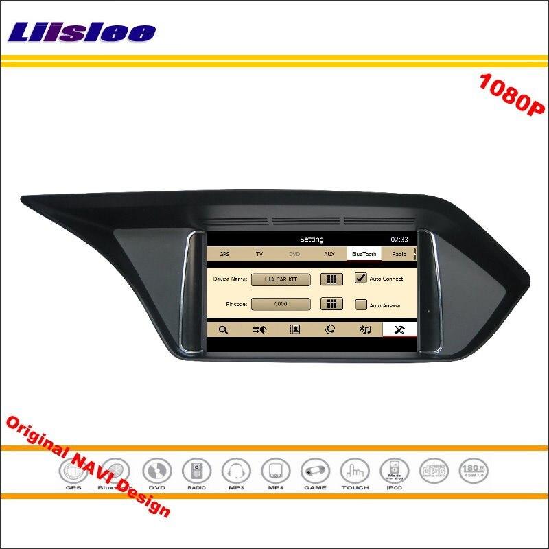 Liislee pour Mercedes Benz E classe W212 2009 ~ 2012 stéréo Radio lecteur DVD GPS Navigation 1080 P HD système d'écran conception originale
