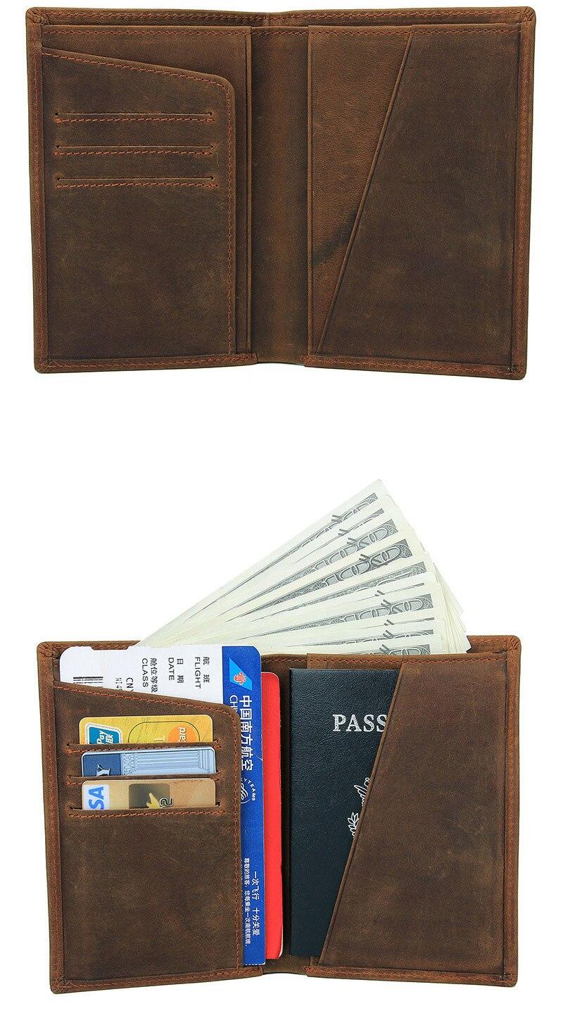 caso pacote longo passaporte capa de negócios