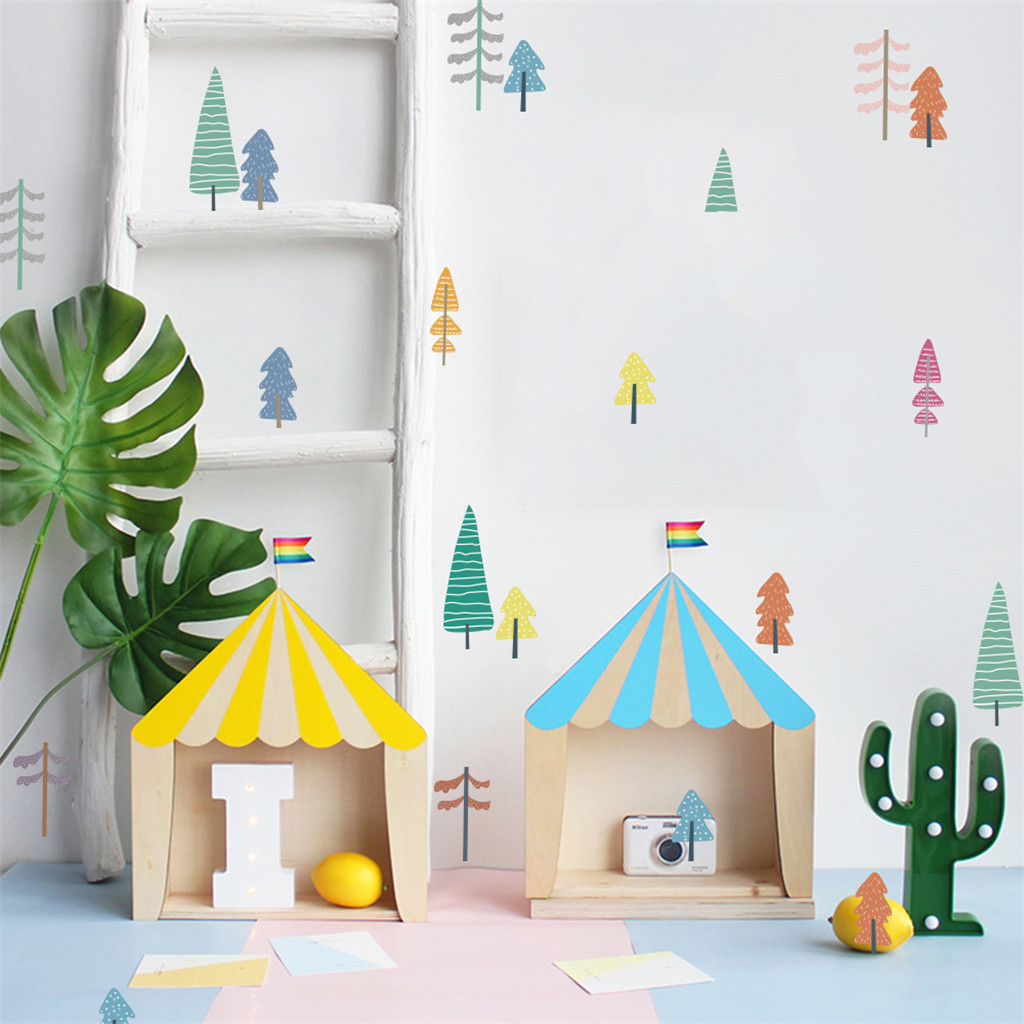 Image 4 - Mobile Creative Wall Stickers Affixed With Decorative Wall Window Decoration Baby Room Decorvinilos decor ativos para paredes-in Wall Stickers from Home & Garden