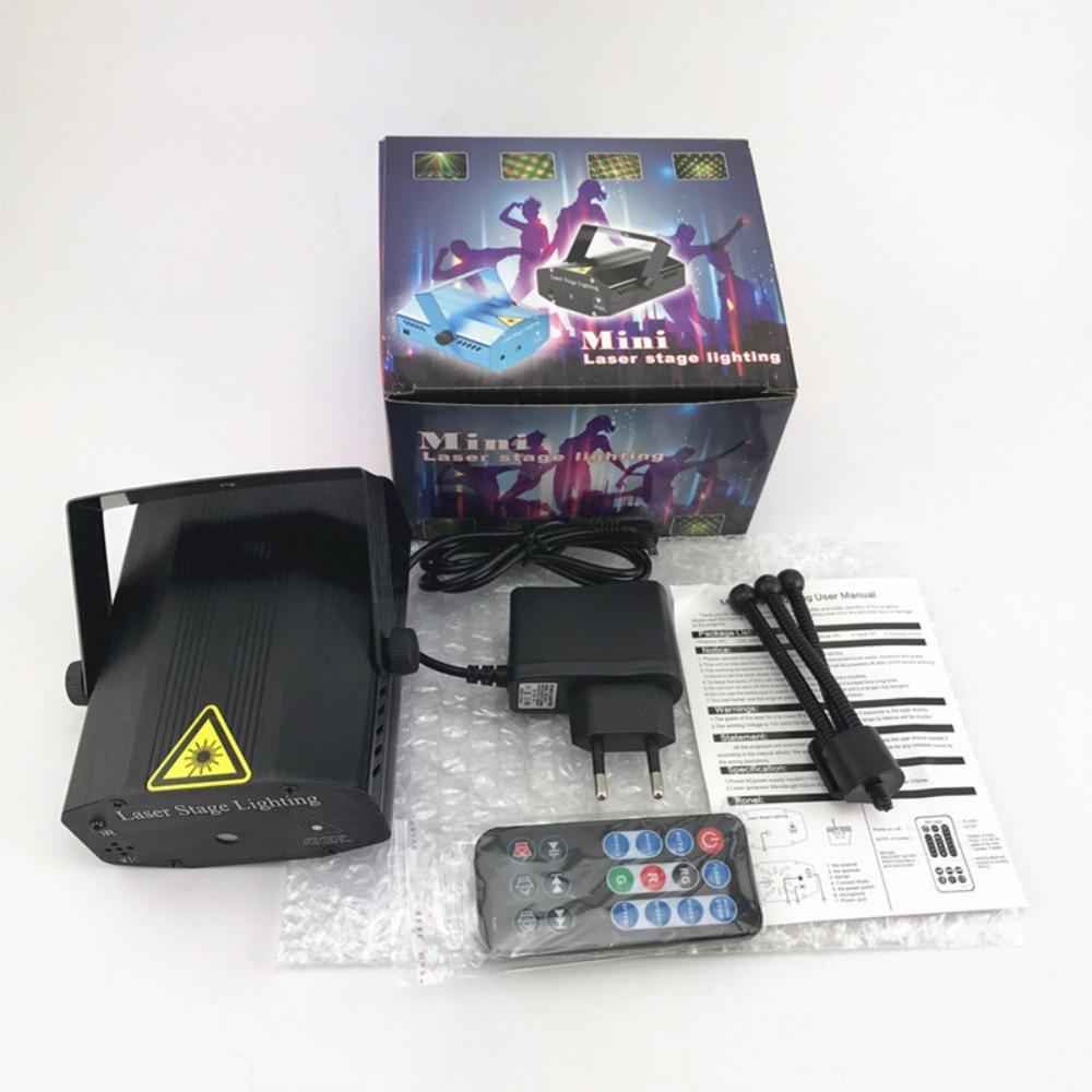 AUCD Mini Portable IR À Distance RG Galaxy Météor Douche Laser - Éclairage commercial - Photo 4