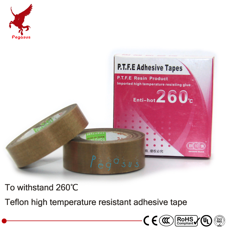High temperature resistant adhesive tape for heating cable high-quality Teflon PTFE Cable adhesive tape