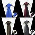 2016 Classic Para Hombre Corbatas Corbatas estrechas 6 cm A Cuadros Corbatas Delgadas para Hombre Ropa Formal Traje de Negocios Del Banquete de Boda Gravatas