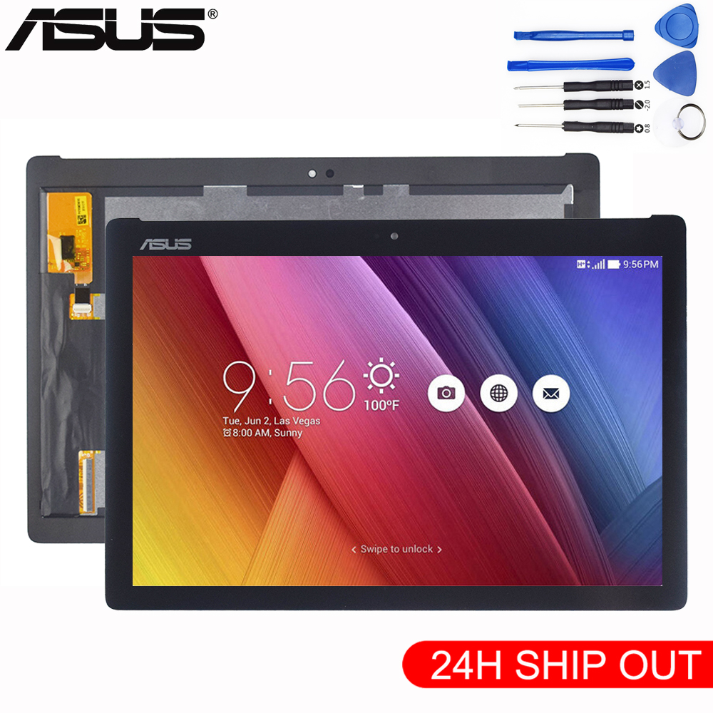 New LCD Display NV101WUM-N52 Touch Screen Digitizer Assembly For ASUS ZenPad 10 Z301M Z301ML Z301MF Z301MFL P028 P00L Z300M P00C for asus zenpad pad 10 z300c z300m p00c panel lcd combo touch screen digitizer glass lcd display assembly accessories parts