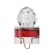 LED Deep Drop Underwater Diamond Fishing Flashing Light Bait Lure Squid Strobe free shipping
