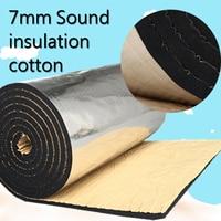 300*100cm Car Sound Deadening Cotton Heat Insulation Pad thickness 7mm Foam Material Automotive Interior Accessories