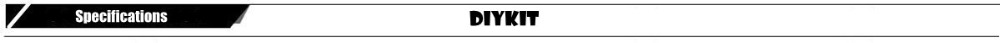 DIYKIT specifications