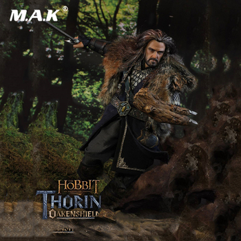 For Collection 1/6 Full Set THE HOBBIT Series THORIN OAKENSHIELD An Unexpected Journey Sixth Scaled Figure Model for Fans Gifts фото