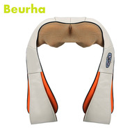 Multifunction Home Car Office Neck Back Massager Infrared Body Therapy Electrical Shiatsu Shoulder Neck Cellulite U