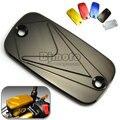 Motorcycle CNC Front Fluid Reservoir Cap Cover for Honda CB 400 SF CBF600 S CBR600F CBR600 RR Hornet 600 CBF 500 Sliver Wing 600