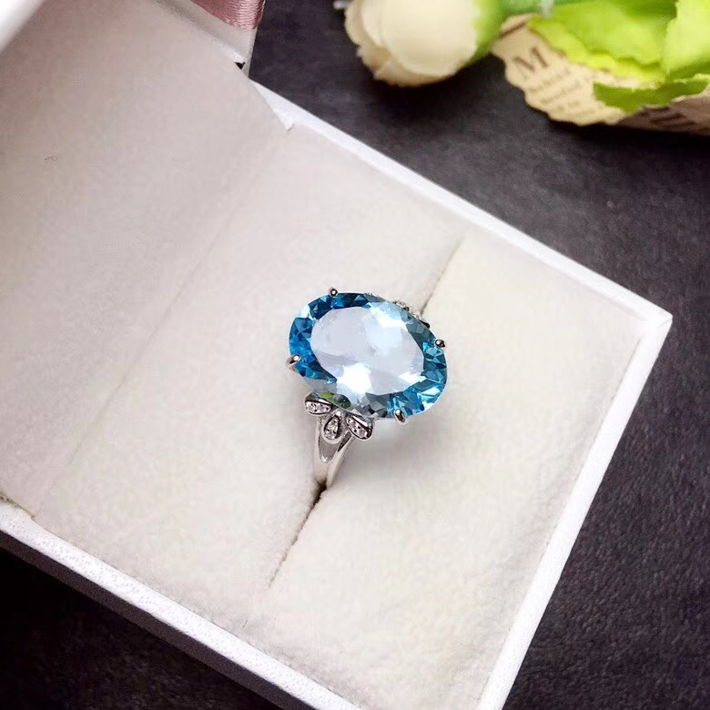 HTB1rEVRbyrxK1RkHFCcq6AQCVXat - Uloveido Natural Blue Topaz Ring 10 Carat Gems 925 Sterling Silver Birthstone Rings
