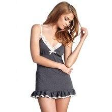 Ночное платье женское белье женщина летнее платье Ночное платье CHEMISE De Nuit ночная рубашка пижамы 993