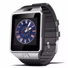 Купить онлайн Оригинальный DZ09 Смарт часы с Камера наручные часы Bluetooth SIM карты Smartwatch для Apple ios и Android телефоны нескольких языков