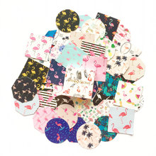 45pcs /Pack Romantic Flamingos Paper Adhesive Decorative Stickers Stick Label Decoration(China)