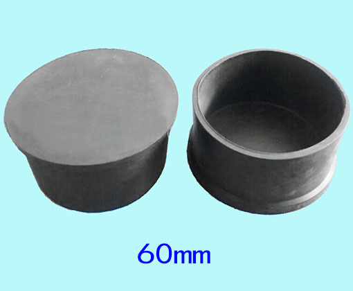 60mm Leg Covering Cap Pad Chair Machine Leg Feet Pad Round
