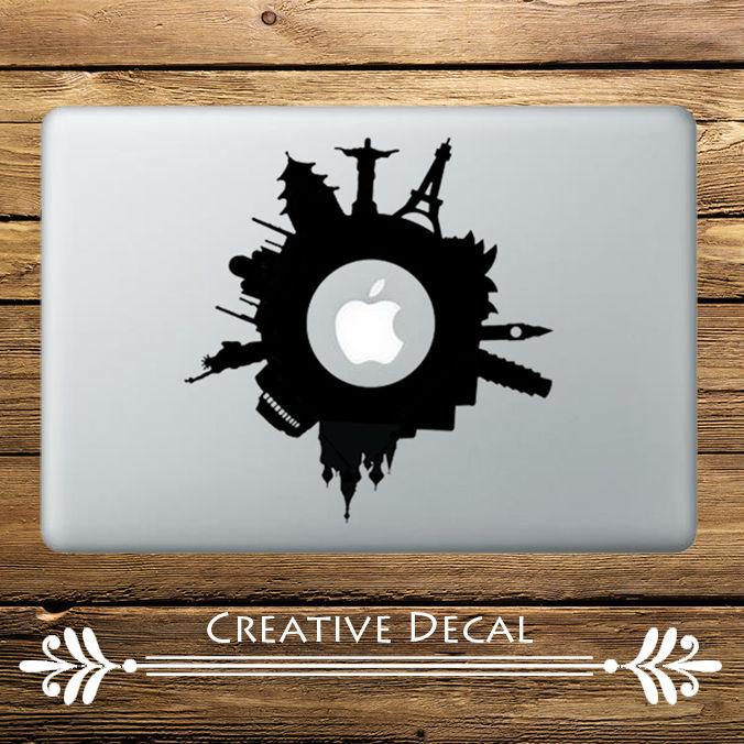 World Scenic Wonder Laptop Sticker for 11 12 13 15 Vinyl Apple Macbook Pro Air Retina 15.6 HP Acer Dell Mi Notebook Skin Decal
