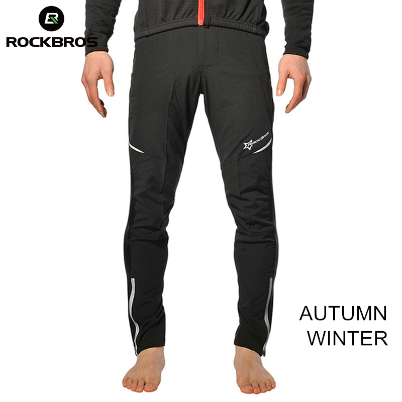 ROCKBROS Thermal Fleece Hiking Pants Winter Windproof Camping Mount Trousers Hunting Clothing Cycling pantalones Men Women Pant lance hiking winter fleece thermal pants windproof leisure style climbing cycing bike outdoor sport pant men big size cloth