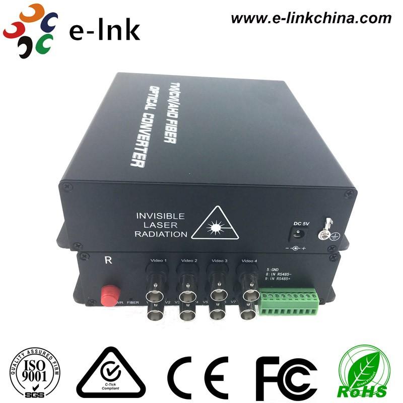 8ch HD CVI TVI AHD fiber transceiver 3