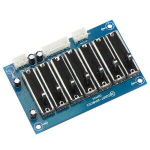 Image 2 - ECUALIZADOR EQ de 7 segmentos preamplificador de frecuencia ajustable, fuente de alimentación de CC Dual, placa preamplificadora de tono estéreo de dos canales
